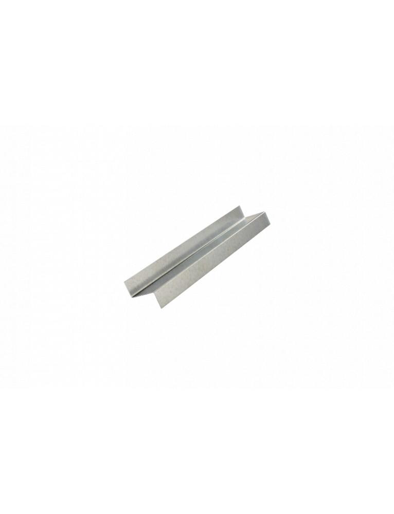 Profilé Zed en acier galvanisé